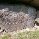Knowth carved stone