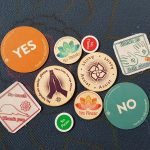 collection of consent chips