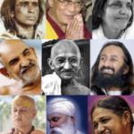 photos of various gurus