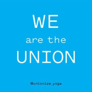 We are the Union @unionize_yoga